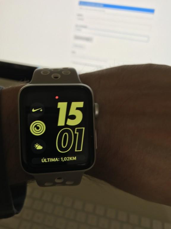 69002ffc376 Relógio Apple Watch Nike+ 42mm