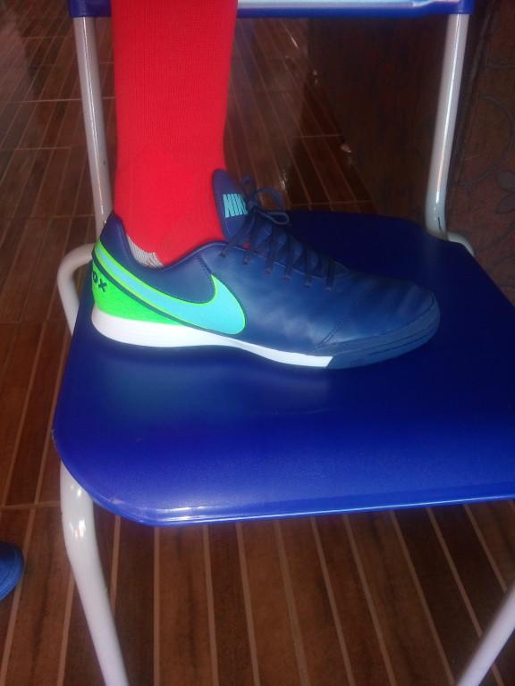 Chuteira Nike TiempoX Mystic V Society  03329b7ae0a26