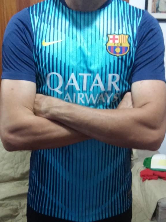 925ec95073789 Camisa Barcelona Squad Pré Jogo
