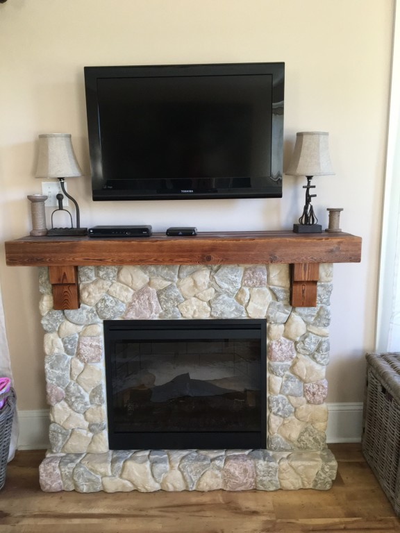 Surprising Fieldstone Electric Fireplace Home Interior And Landscaping Ologienasavecom