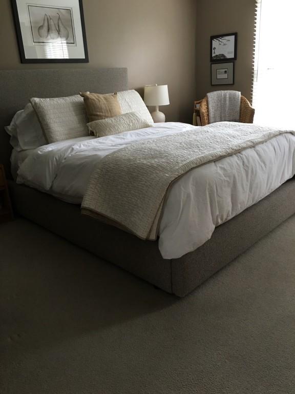 Wyatt Upholstered Bed - Modern Beds & Platform Beds - Modern ...