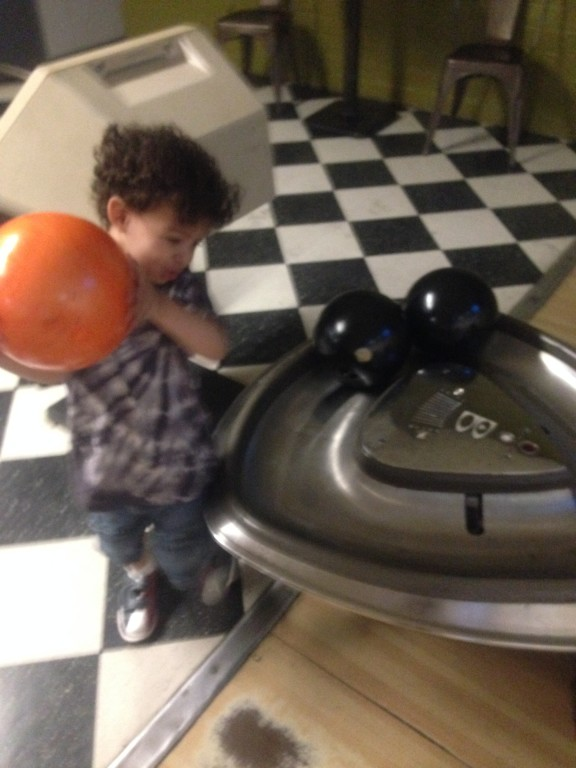 Customer Image (Adorable Strong Toddler Bowling)