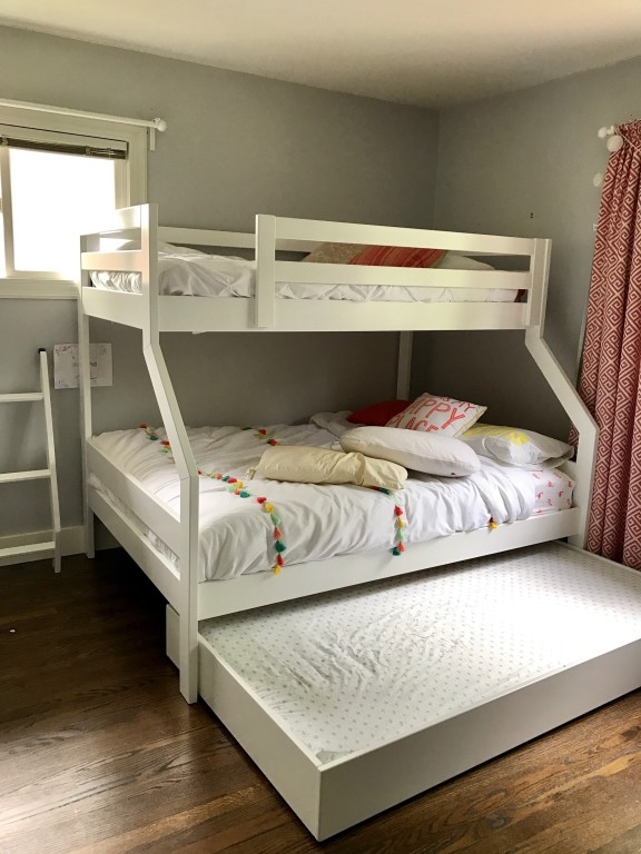the only bed well ever need - Bunk Bed Frame