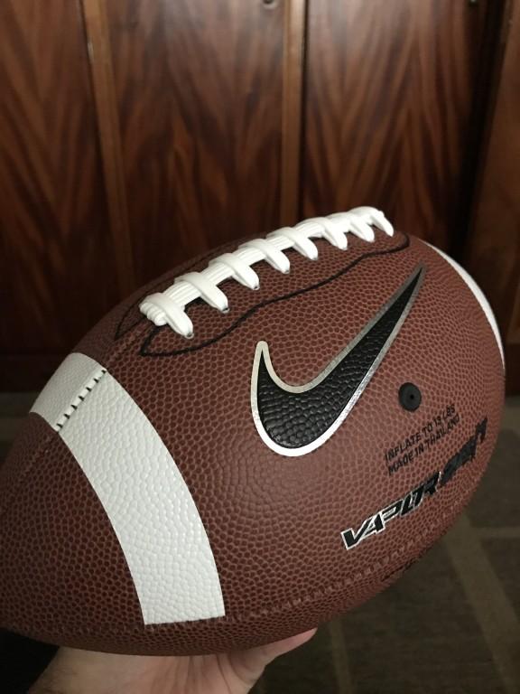 Bola Futebol Americano Nike Vapor 24 7 Oficial  df3b91cfba854