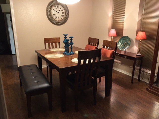 Ralene 6 Piece Dining Set In Medium Brown