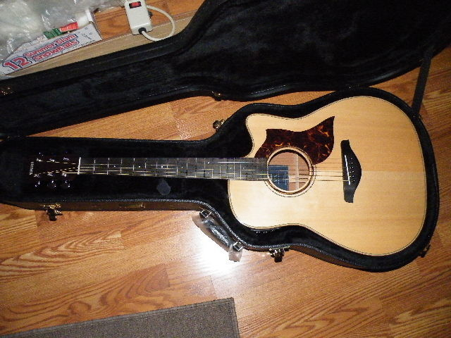 yamaha a-series all solid wood dreadnought acoustic-electric