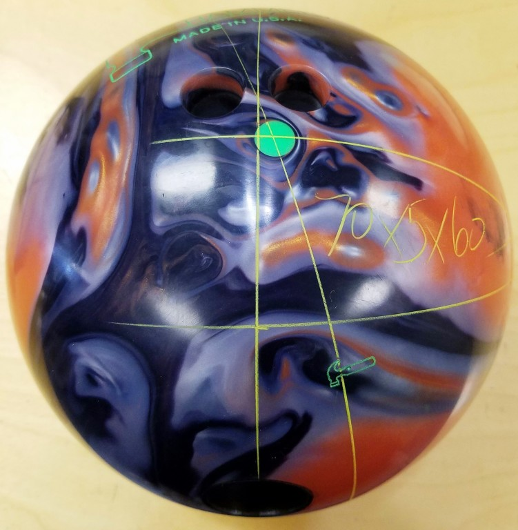 Customer Image (Ball Layout:  70 x 5 x 60)