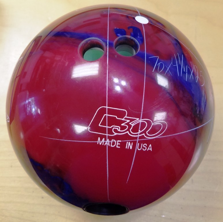 Customer Image (Ball Layout:  70 x 4 1/4 x 25)
