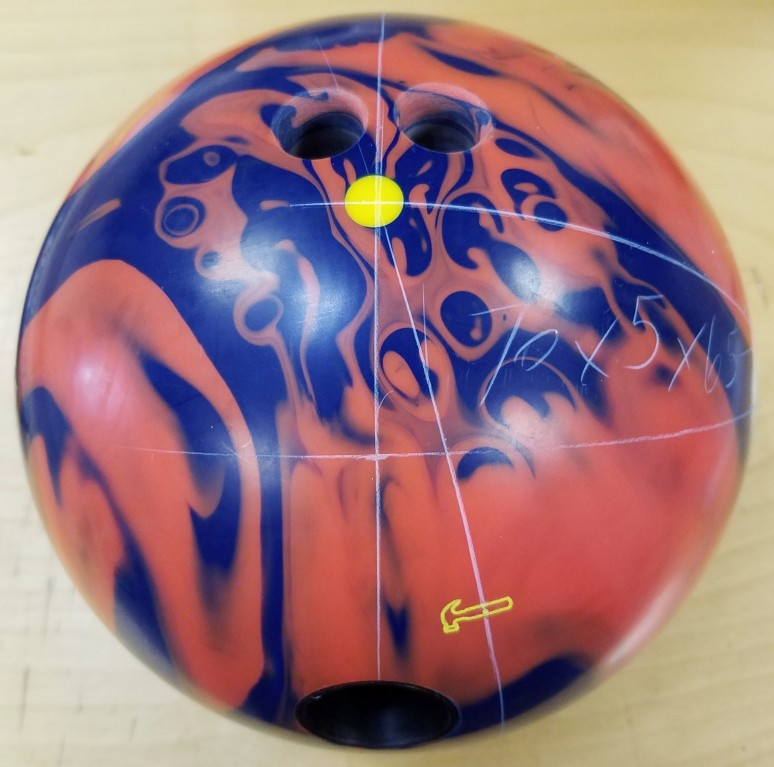 Customer Image (Ball Layout:  70 x 5 x 65)