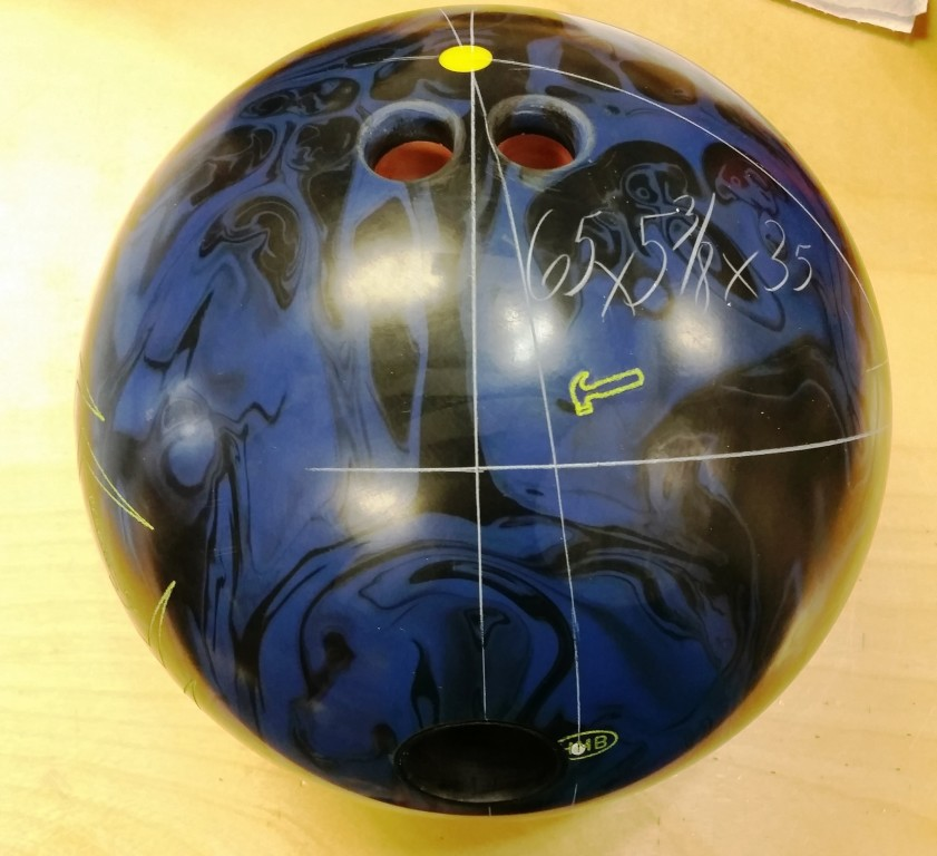 Customer Image (Ball Layout:  65 x 5 3/8 x 35)