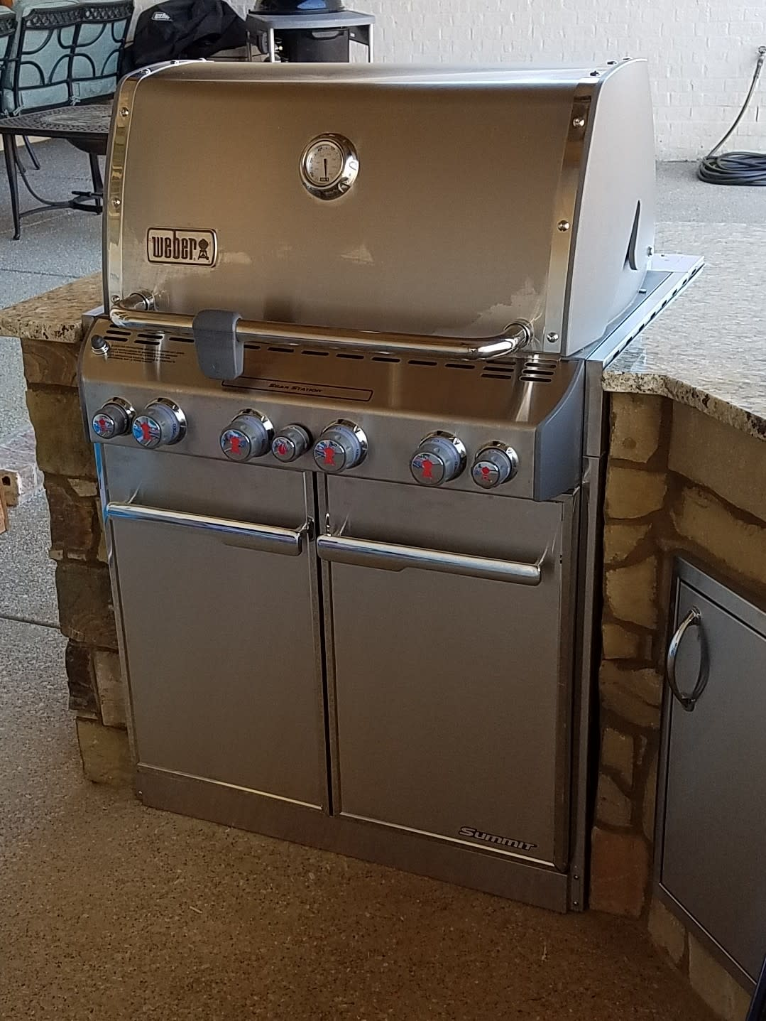 Weber Summit S-460 Built-In Natural Gas Grill With