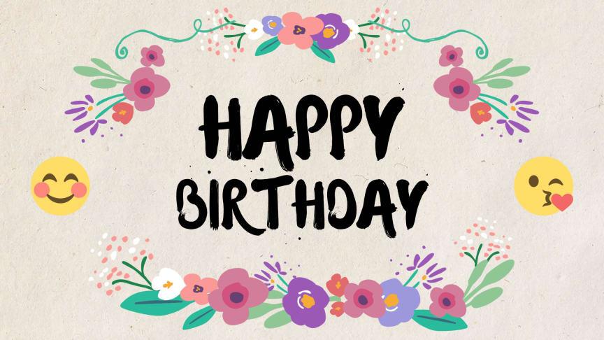 Surprising Birthday Card Template Powtoon Personalised Birthday Cards Bromeletsinfo