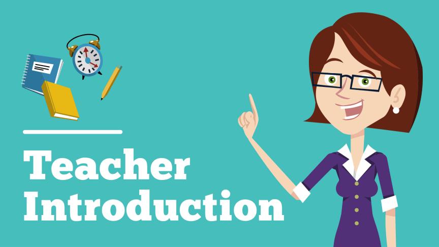 Teacher Intro Template | Powtoon