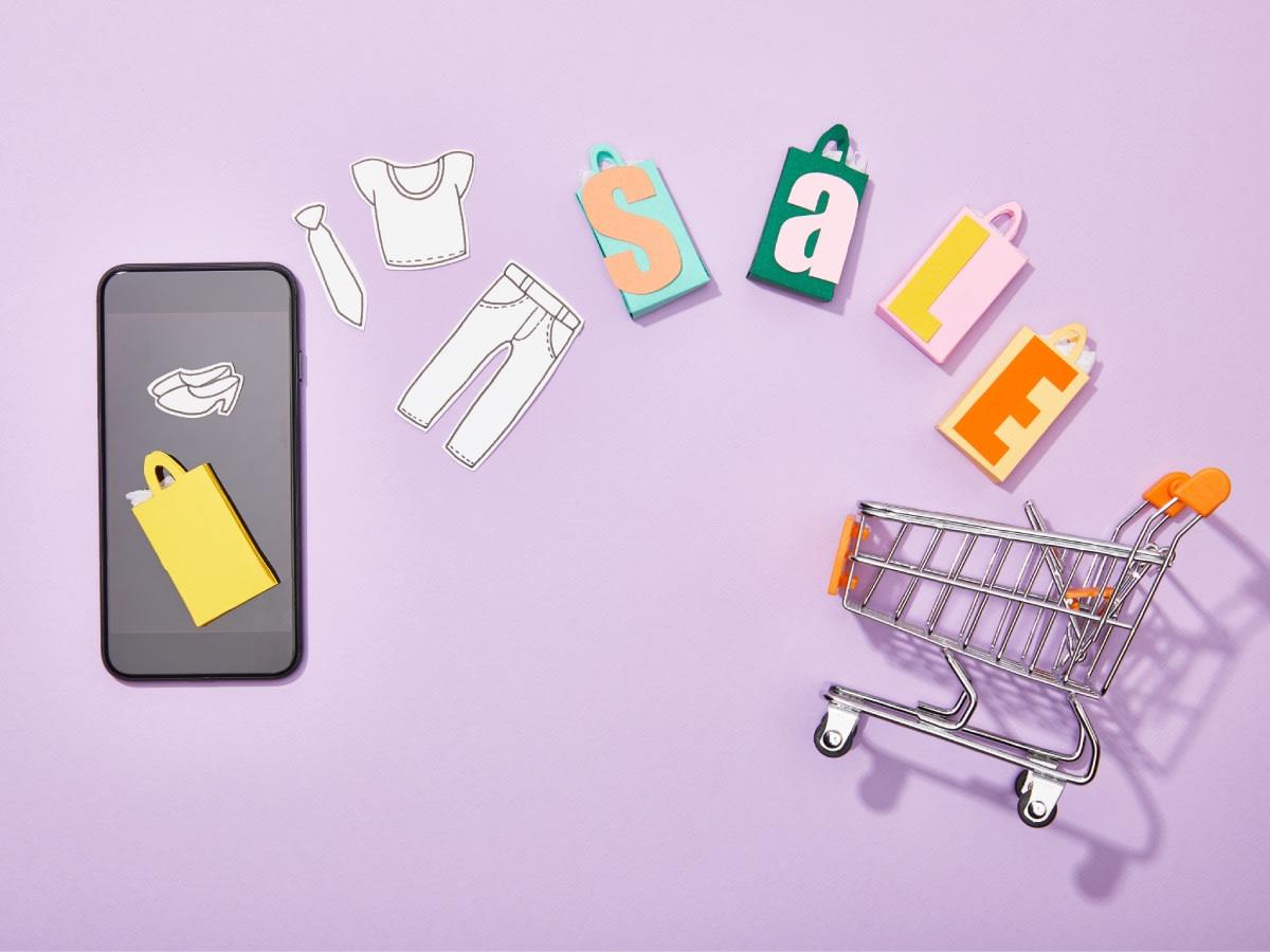 Shopping Trolley Smart Phone