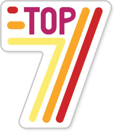 Top 7 badge