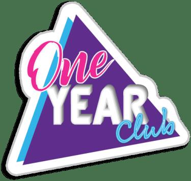 One Year Club badge