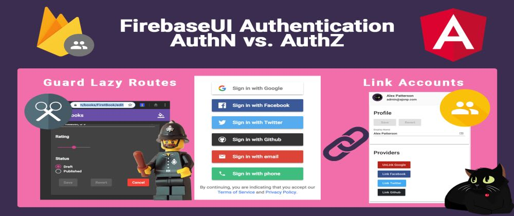 Cover image for Firebase Authentication and Authorization