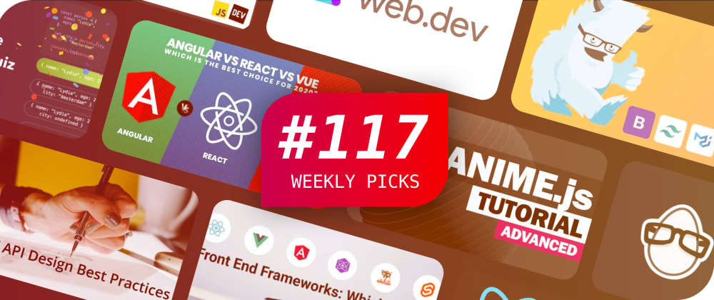 Cover image for 🔥 JavaScript Quiz, React Updates, SVG Animation, and more — Weekly Picks #117