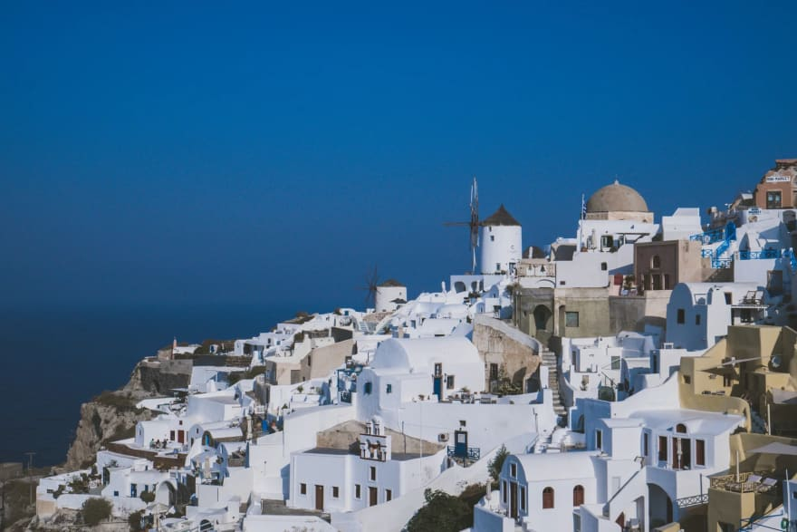 Oia, Santorini, Greece [photo by [Clement Lim](https://medium.com/u/4455aa7806f7)]