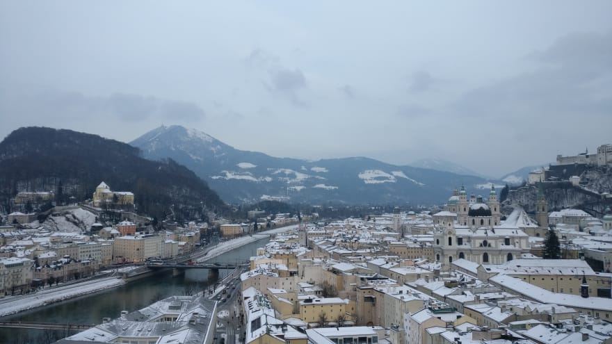Another photograph that doesn't remotely do Salzburg's beauty justice