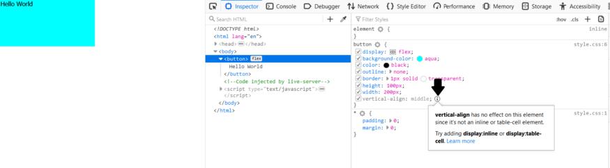 ScreenShot of Firefox Developer tool.