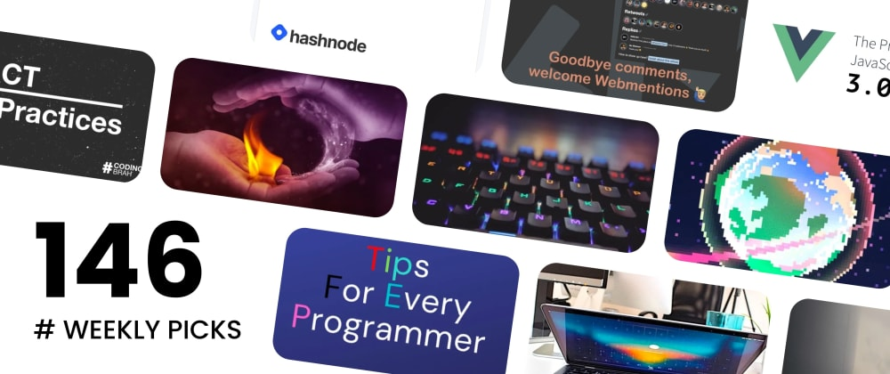 Cover image for 🔥 What's Hot in Web Development? — Weekly Picks #146