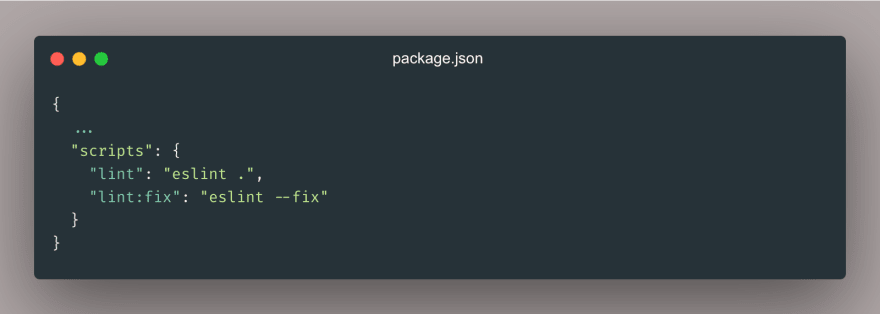 Lint/fix your code