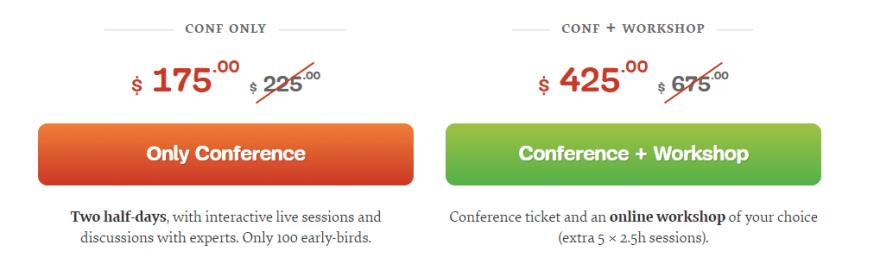 SmashingConf Live tickets