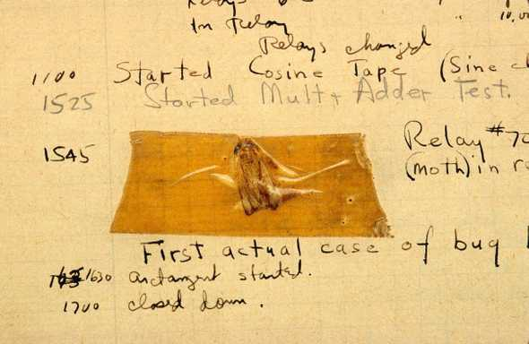 On September 9, 1947, the world's first computer bug was recorded by Grace Hopper. It was a real-life moth that was causing issues with the computer's hardware.<br>