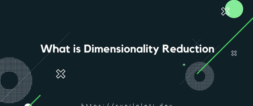 Cover image for What is Dimensionality Reduction?