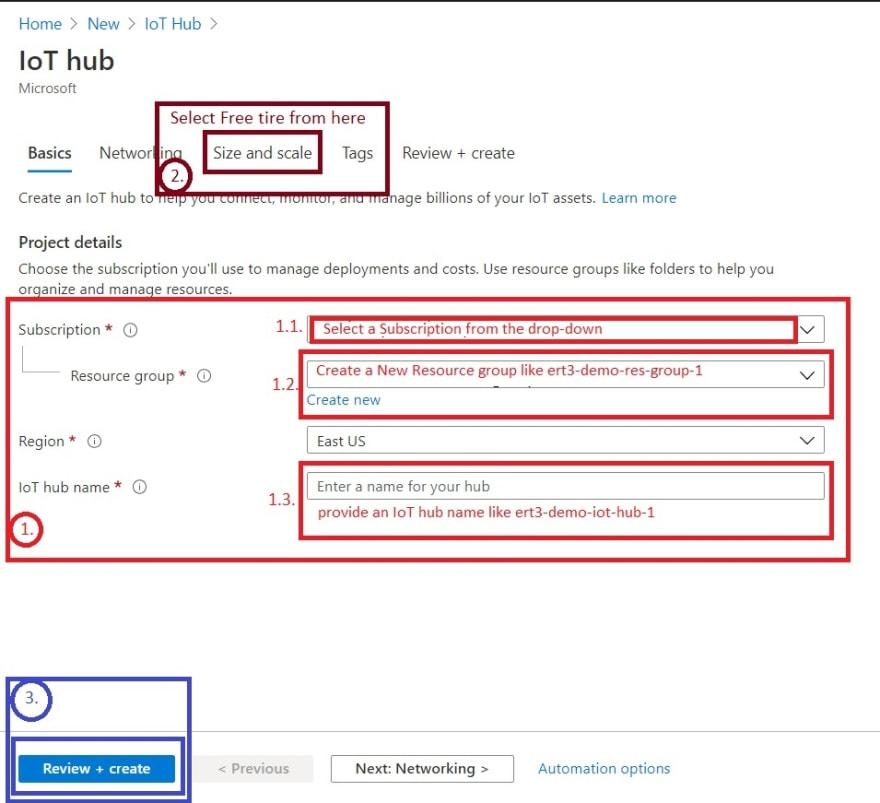 Screen capture - hub form