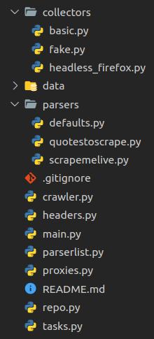 Crawler File Tree