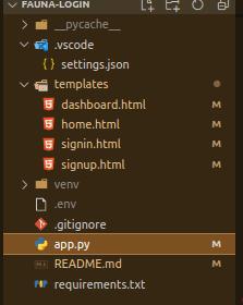 app structure