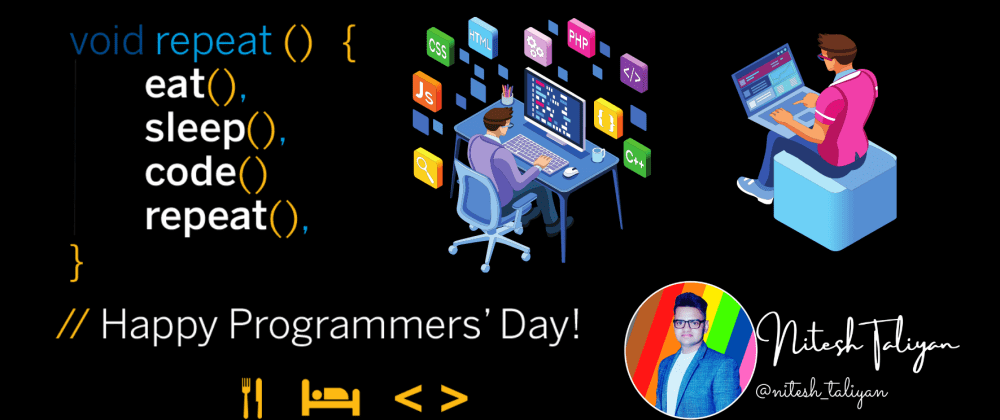 Cover image for Happy Programmers' day
