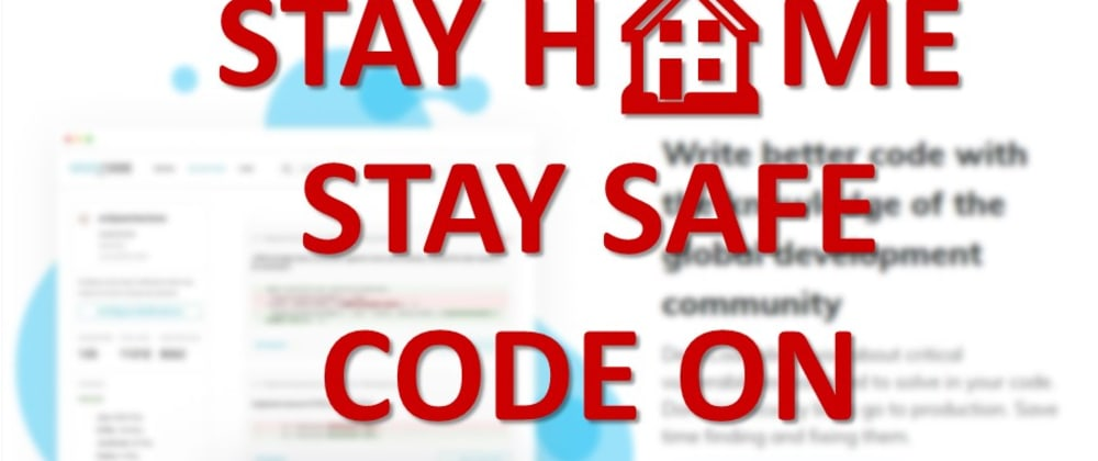 Cover image for Stay Home, Stay Safe, Code On