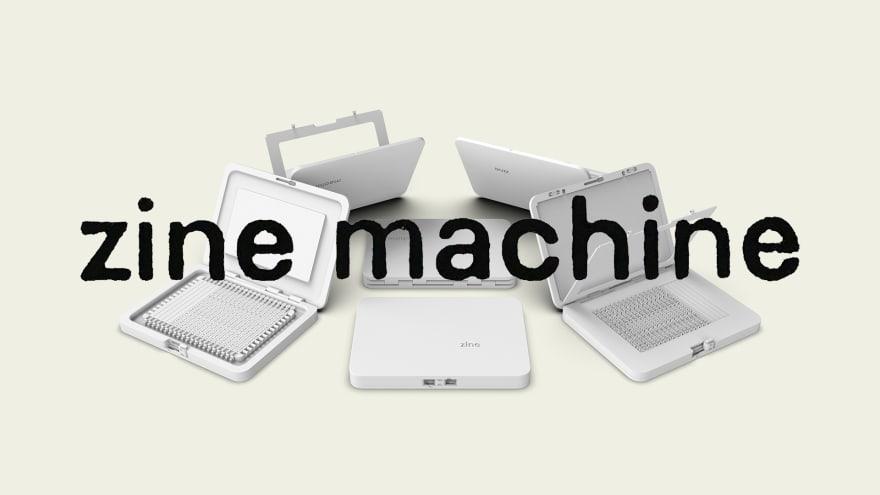 image of the zine machine