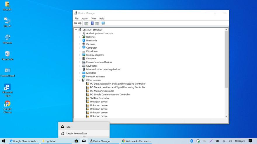 Installing Drivers, Tweaking Windows - DEV Community