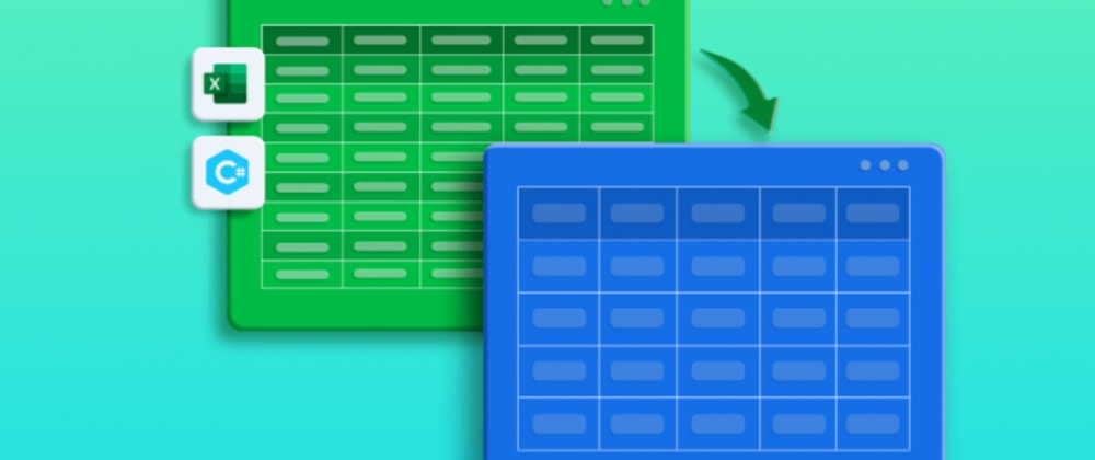 Cover image for Export Data from Excel to Data Tables with Customization in C#