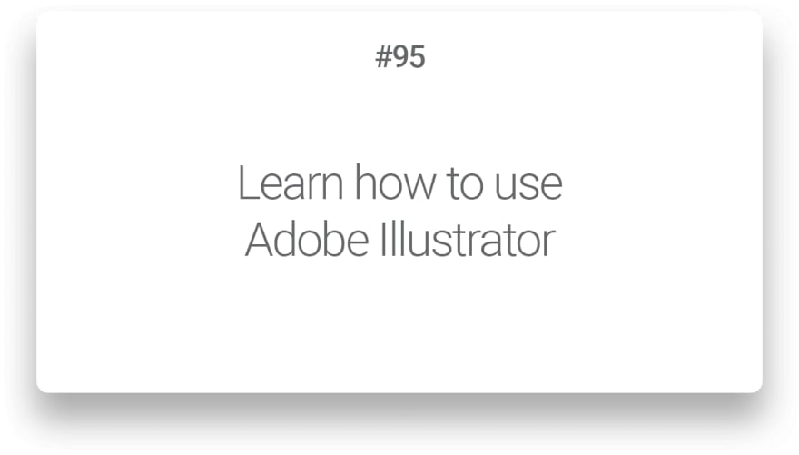 Learn how to use Adobe Illustrator