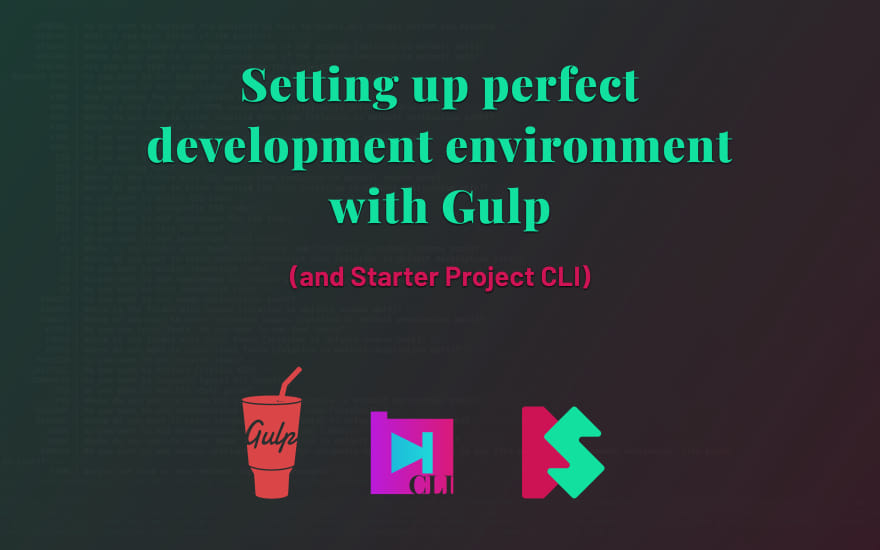 SPRO course: Setting up development environment with Gulp