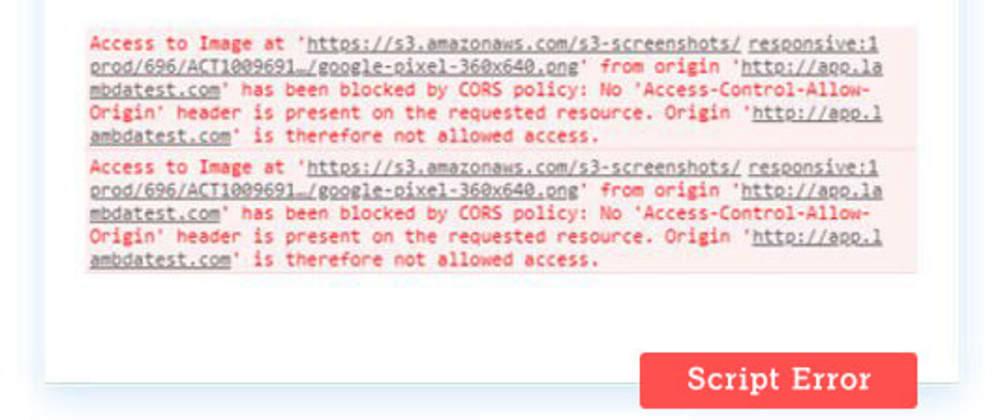 Cover image for (Unknown): Script Error in JavaScript