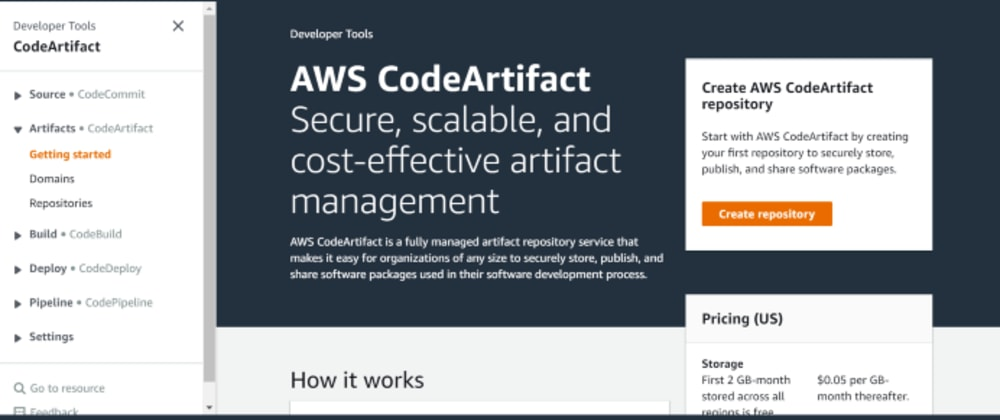 Cover image for AWS CodeArtifact - the long-awaited feature