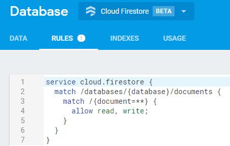 cloud-firestore-console-config-auth