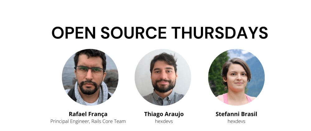 Cover image for Open Source Thursdays Expert Session with Rafael França on August 5th