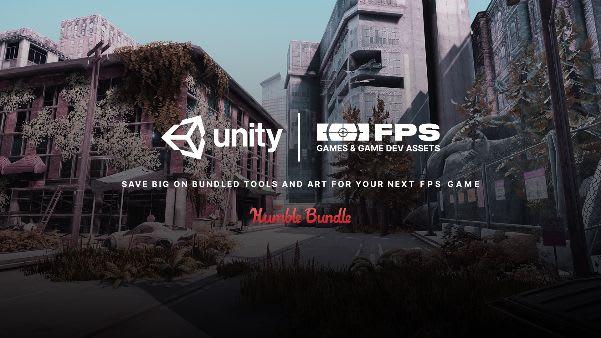 Unity FPS Games & Game Dev Assets Software Bundle