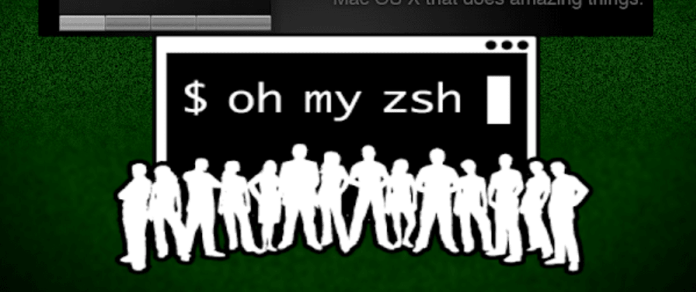 Cover image for zsh / oh-my-zsh up and running