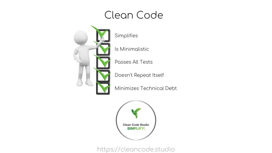 Clean Code Check List