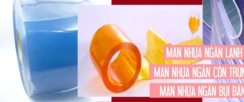 Cover image for Màn Rèm nhựa pvc ngăn lạnh cao cấp Meci TP.HCM