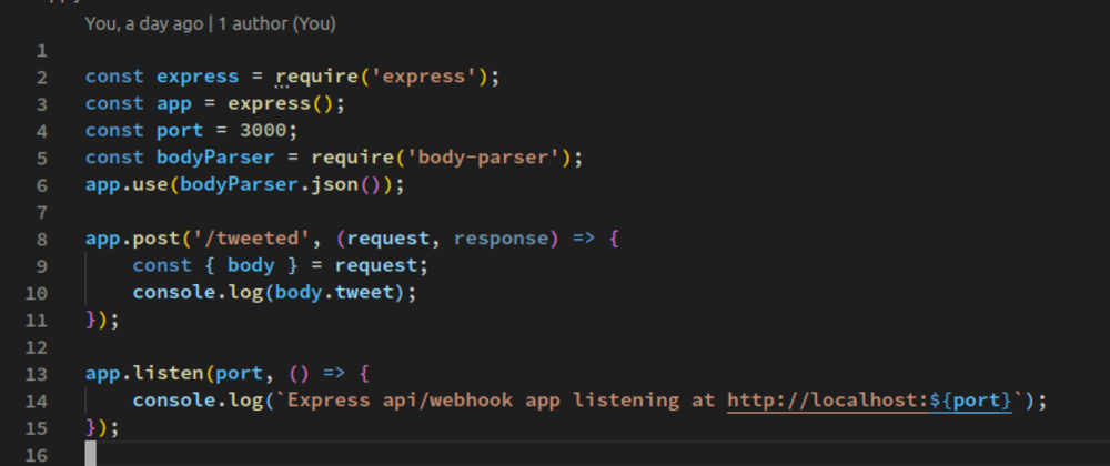 Cover image for Learn webhooks in under an hour with Node, IFTTT and Twitter