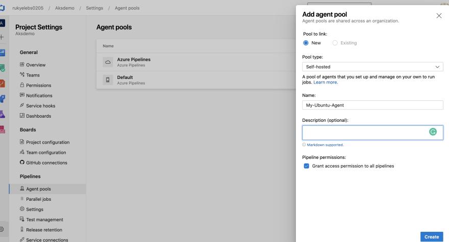 Create Agent